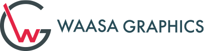 Ammattitaitoinen ja palveleva painotalosi - Waasa Graphics logo